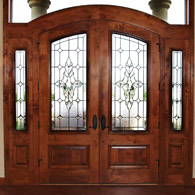 Fort Collins Entryway Stained Glass