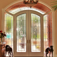 Fort Collins Stained Glass Sidelights