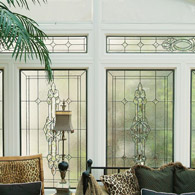 Fort Collins Transom Leaded & Beveled Glass